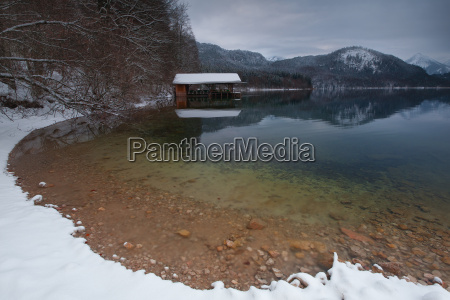 winter am alpsee