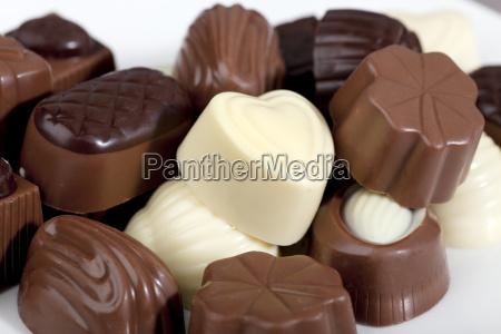 pralinen nachtisch nachspeise dessert desert schokolade