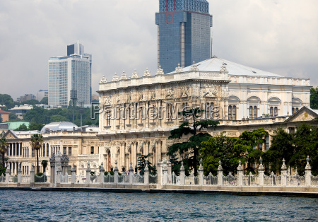 dolmabahce palast in istanbul