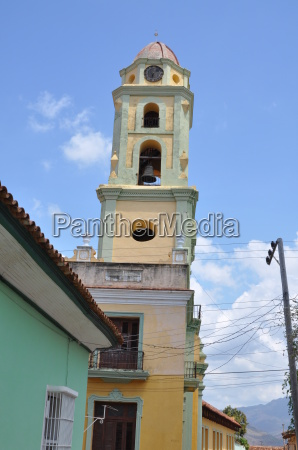 cathedral in trinidad on cuba