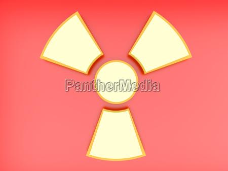 radioaktives zeichen