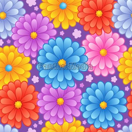 flowery seamless background 4