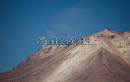active volcano andes bolivia