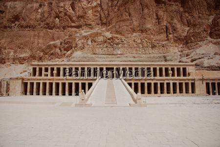 tempel in aegypten ansicht