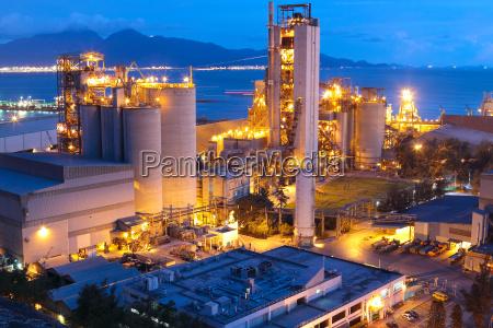 cement plant concrete or cement factory