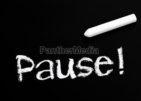 pause, ! - 6248276