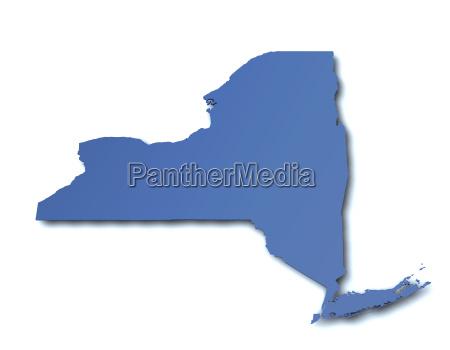 map of new york usa