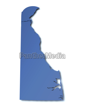 map of delaware united states