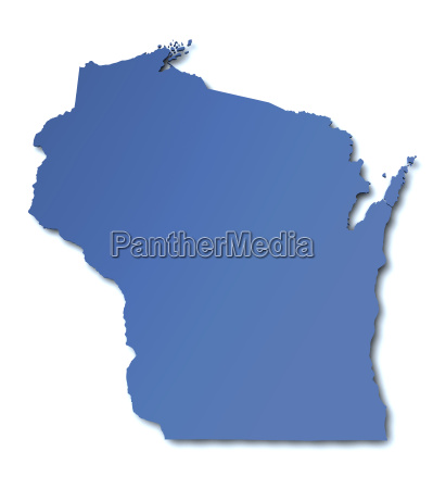 map of wisconsin usa