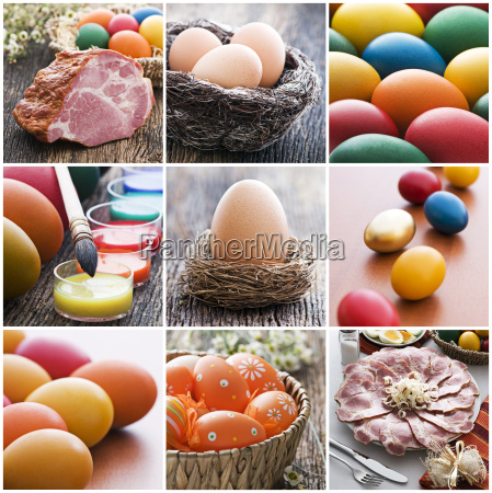 ostern collage