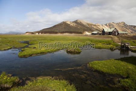 berglandschaft landmannalaugar island