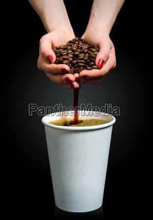 handgemachter kaffee