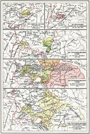 karte von OEsterreich ungarn vom 12