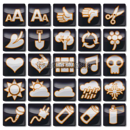 icons schwarz 76 100