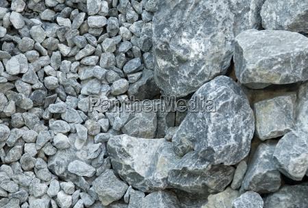 grey stones