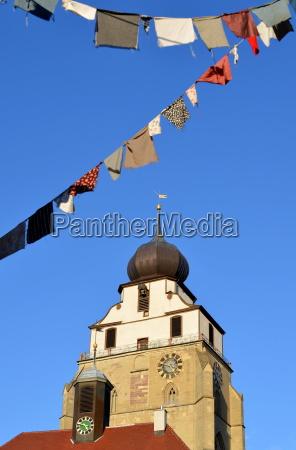 church in herrenberg fastnacht