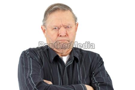 muerrischer alter mann