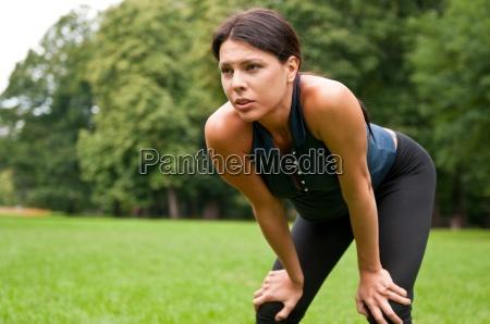 entspannen muede nach dem joggen