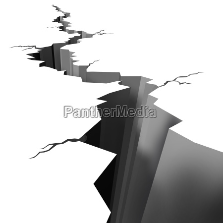 erdbeben, geknackt, erdgeschoss - 6414839