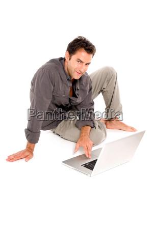 laptop notebook computer portrait portraet potrait