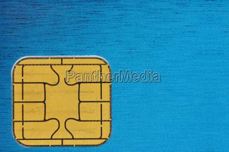 kreditkarten chip