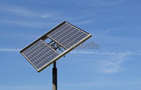 quadratische photovoltaikanlage freistehend