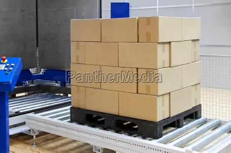 industria trasporto deposito scatola scatolame cassone