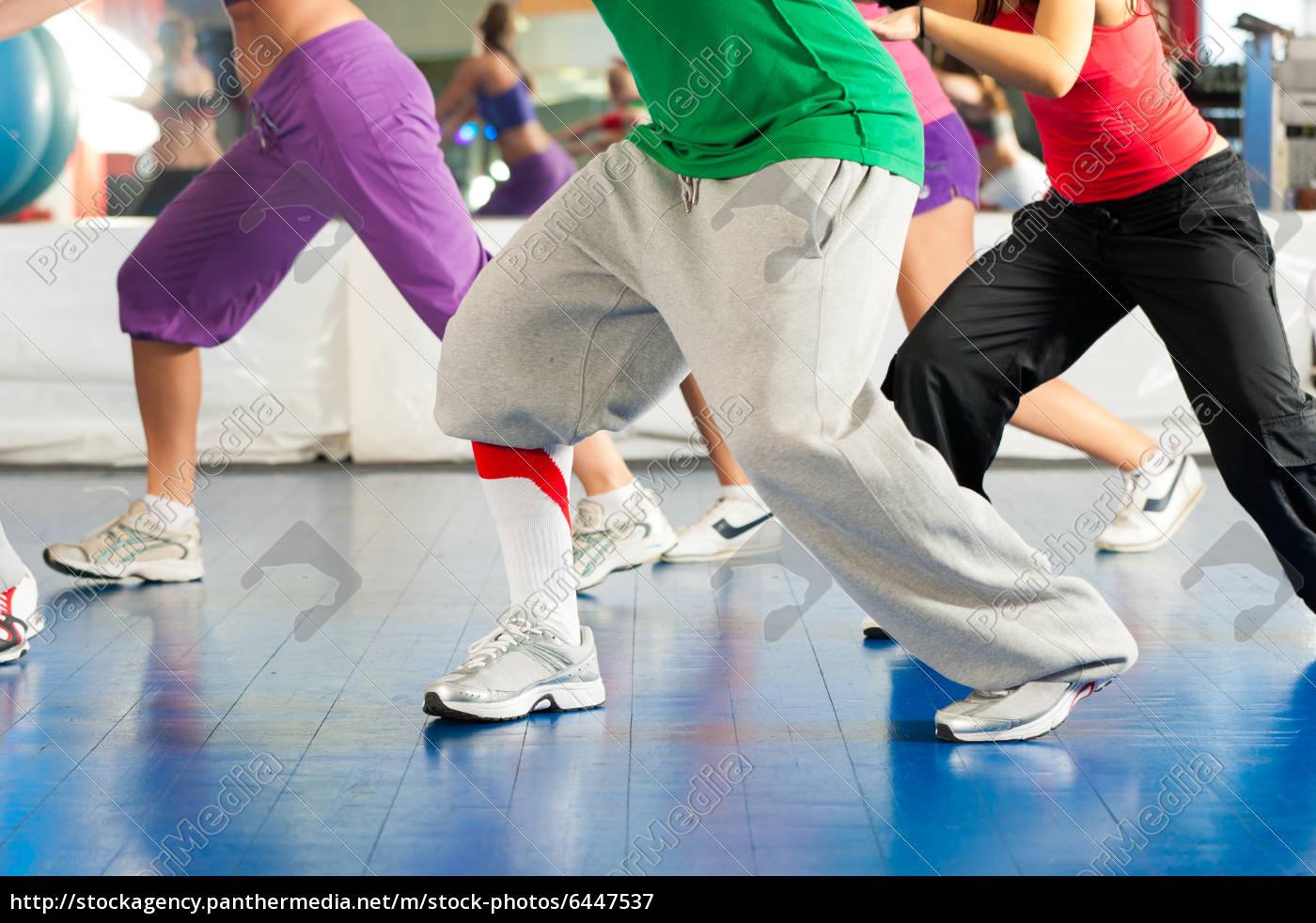 fitness, -, zumba, training, und, workout - 6447537