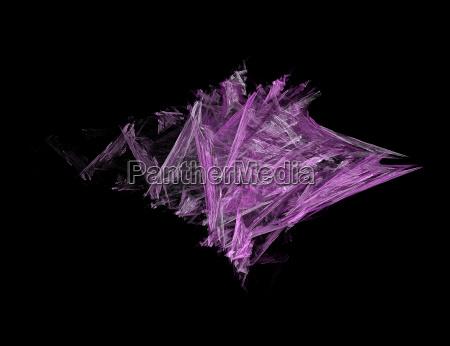 purple structure