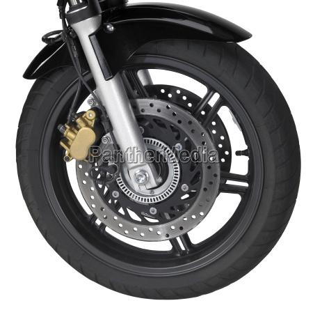 motorbike front wheel
