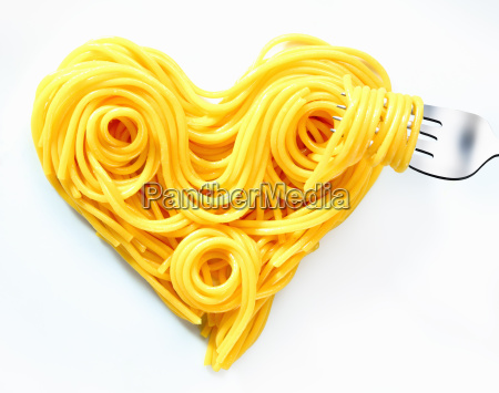 valentines heart spaghetti