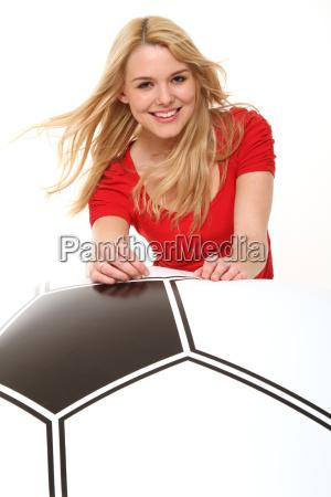 female fan