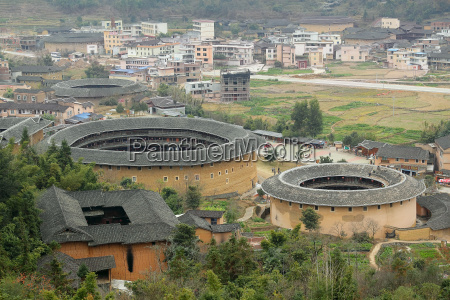 fujian tulou in china old building