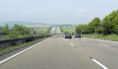 highway scenery in southern germany