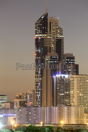 skyscraper in dubai sheikh zayed road