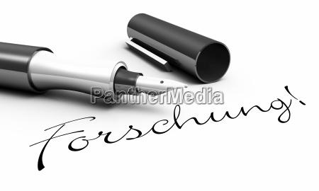 research pen concept