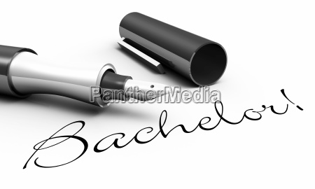 bachelor!, -, stift, konzept - 6553519