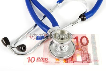 stethoskop mit zehn euro