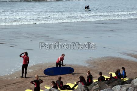 tafel sport strand irland schwarm steckplatte