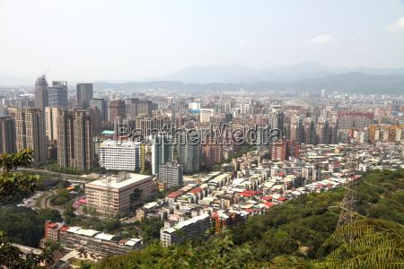 taipei city view taiwan
