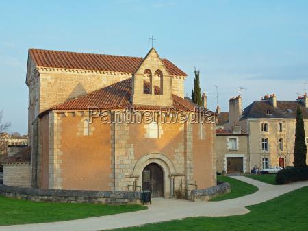 johannes baptisterium poitiers frankreich