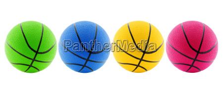 sport farbe ball korb kreis basketball