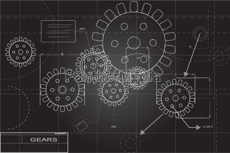 blueprint concept illustration