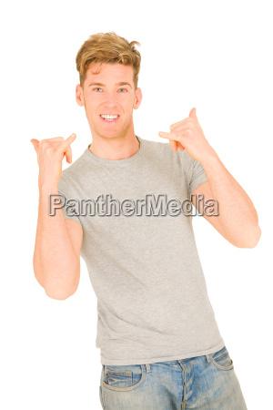 handbewegung lachen lacht lachend belaecheln kichern