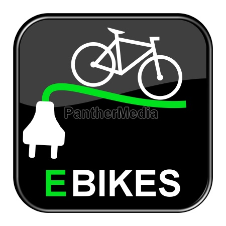 glossy button schwarz e bikes