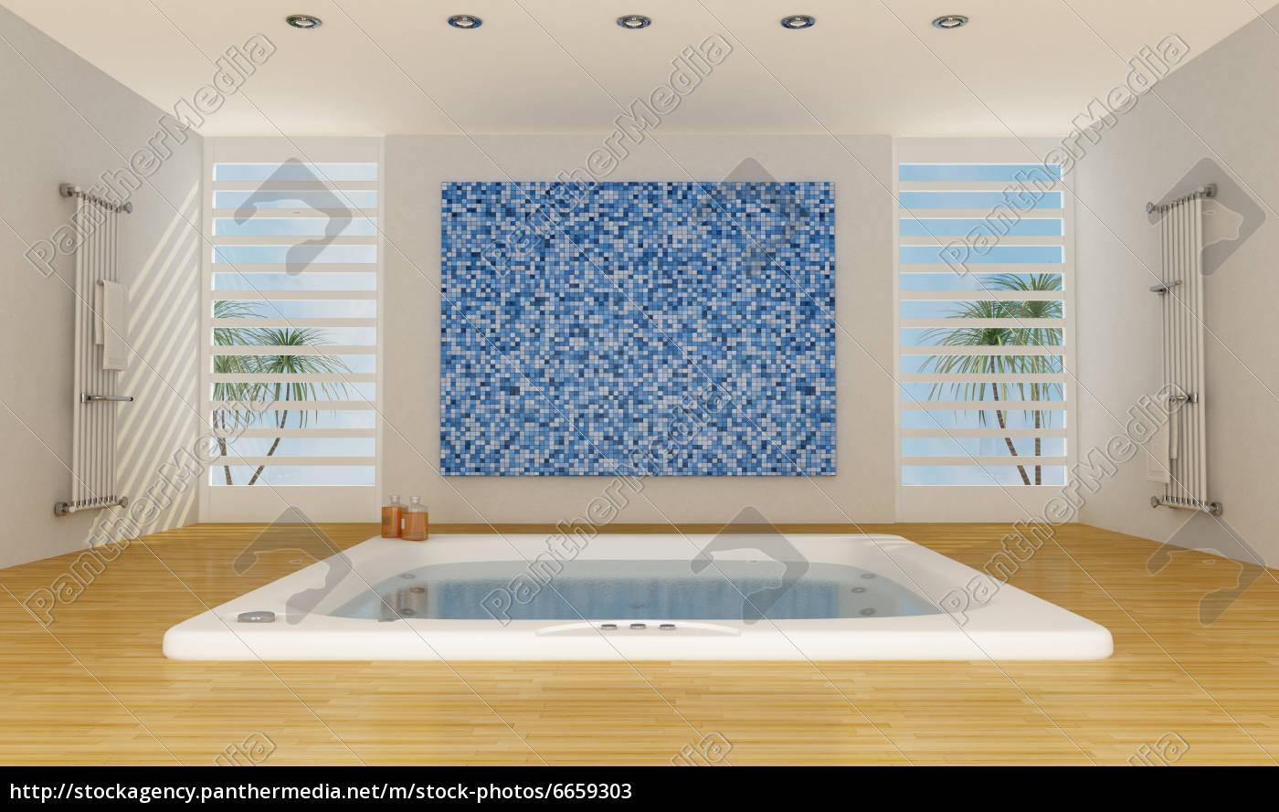 moderne luxus-badezimmer - Lizenzfreies Bild - #6659303 ...