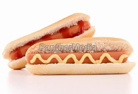 isolierte hot dog