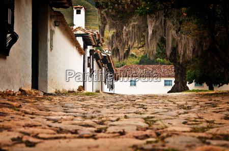 street level villa de leyva