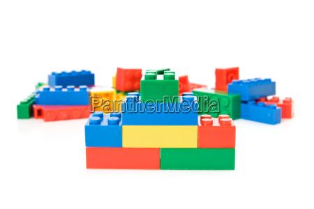 bunte s plastikspielzeug