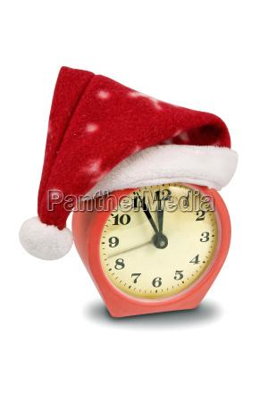 feiertag uhr dekoration ausschmueckung mitternacht weihnachtszeit